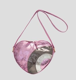 Imoga Imoga Lilac Crystal Heart Bag