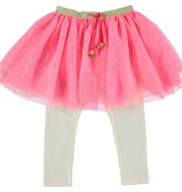 Billieblush Billieblush Tulle Skirt with Attached Leggings