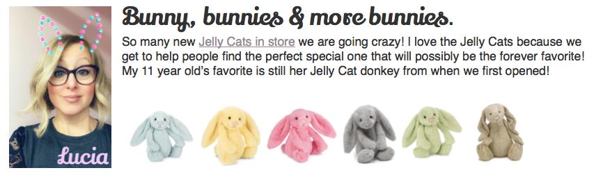 Jelly Cat bunny