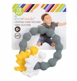 chewbeads Chewbeads Dinosaur Central Park Teether