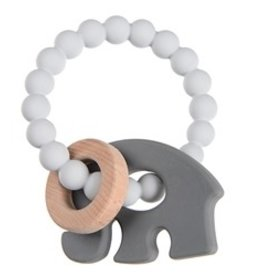 chewbeads Chewbeads Gray Brooklyn Teether