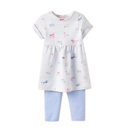 Joules Joules Seren Dog Dress and Leggings Set