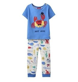 Joules Joules Doodle Crab Applique Tee and Pants Set