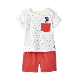 Joules Joules Sea Dog Pocket Tee and Shorts Set