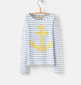 Joules Joules Cora Emellished Jersey Top