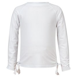 Snapper Rock Snapper Rock White Long Sleeve Rash Top UV50