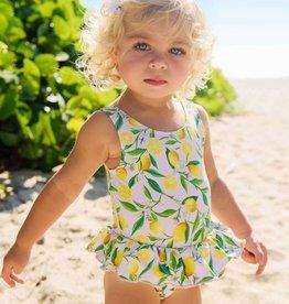 Snapper Rock Snapper Rock Lemon Skirt Swimsuit