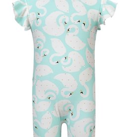 Snapper Rock Snapper Rock Swan Flutter Sleeve Sunsuit UV50