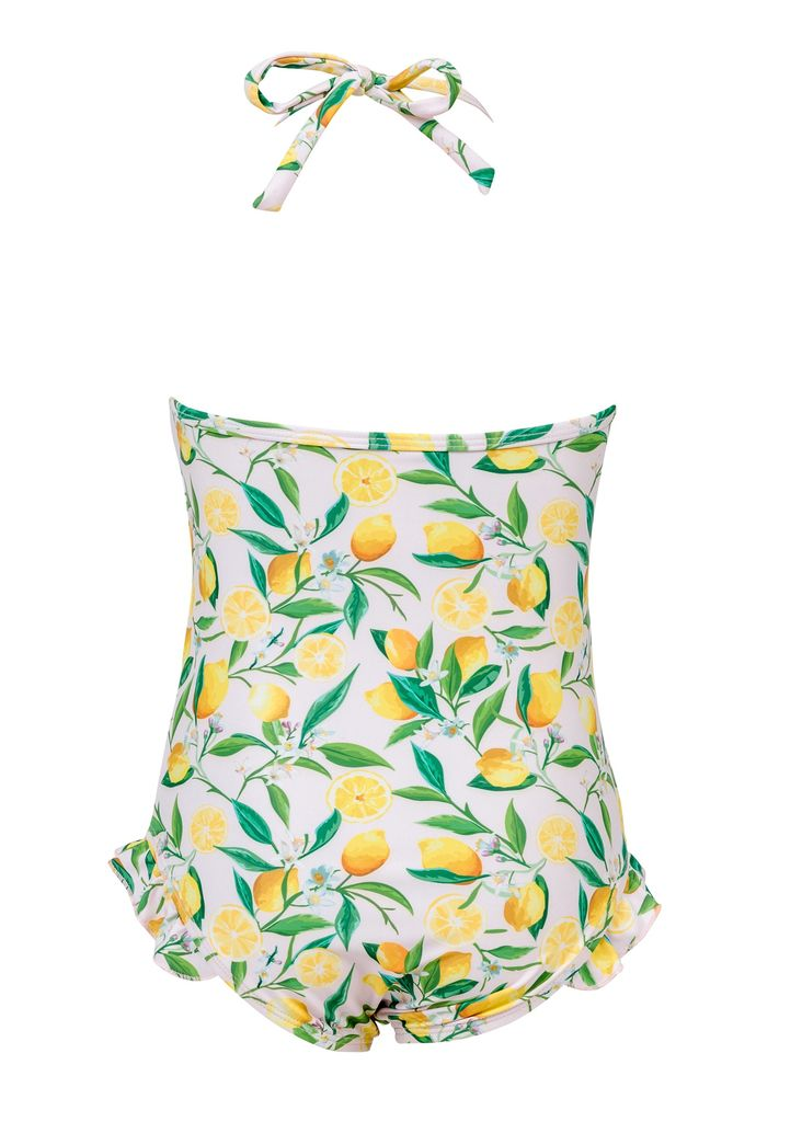 Snapper Rock Snapper Rock Lemon Halter Swimsuit
