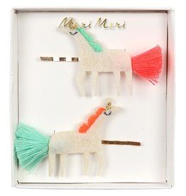 Meri Meri Meri Meri Unicorn With Tails Hair Slides