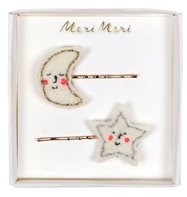 Meri Meri Meri Meri Moon & Star Hair Clips
