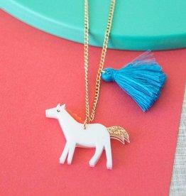 Meri Meri Meri Meri Horse Tassel Necklace