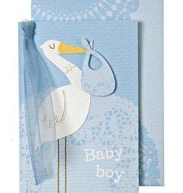 Meri Meri Meri Meri Blue Stork Gift Enclosure