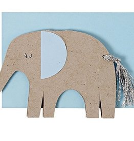 Meri Meri Meri Meri Blue Elephant Gift Enclosure