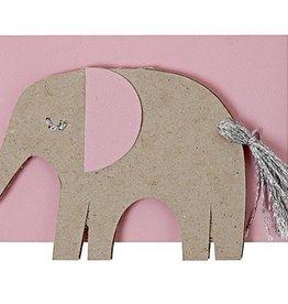 Meri Meri Meri Meri Pink Elephant Gift Enclosure