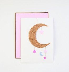 Meri Meri Meri Meri Baby Girl Mobile Greeting Card