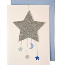 Meri Meri Meri Meri Baby Boy Mobile Greeting Card