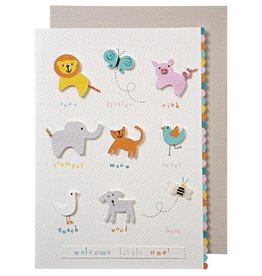 Meri Meri Meri Meri Animals with Sounds Greeting Card