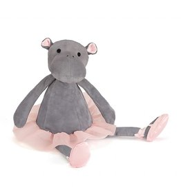 "JellyCat Jelly Cat Dancing Darcey Hippo 13"" Big"