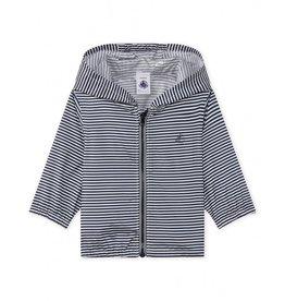 Petit Bateau Petit Bateau Striped Windbreaker Jacket