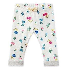 Petit Bateau Petit Bateau Baby Girl Floral Pants