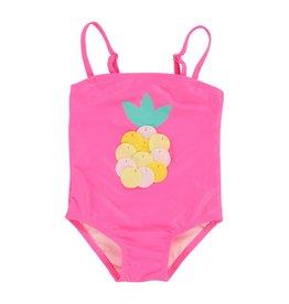 Billieblush Billieblush Baby Pinapple One Piece Swimsuit