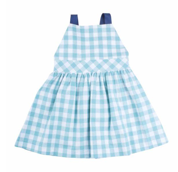 Thimble Thimble Gingham T-Back Dress