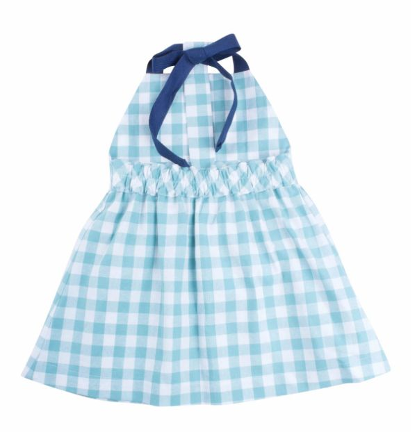 Thimble Thimble Gingham T-Back Dress
