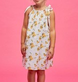 Lil' Lemons Lil' Lemons Fruitie Cutie Bow Dress
