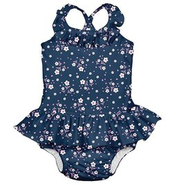 i play i play Posies Ruffle Swim Diaper Swimsuit