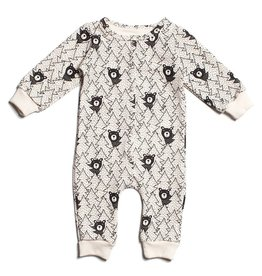 Winter Water Factory Winter Water Factory French Terry Jumpsuit - Bears