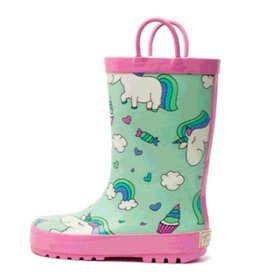 Timbee Timbee Rainboot Rainbow Unicorn