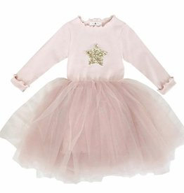 Petite Hailey Petite Hailey Long Sleeve Tutu Star Dress