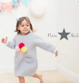 Petite Hailey Petite Hailey Ice Cream Dress