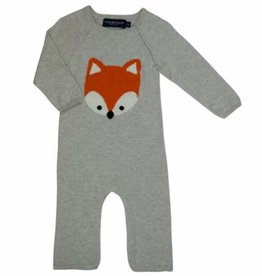 tooby doo Tooby Doo Fox Sweater Knit Jumpsuit