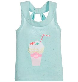 Billieblush Billieblush Jersey Milkshake Tank Top with Open Bow Back