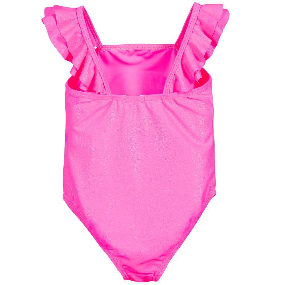 Billieblush Billieblush Toucan Ruffle Strap Swimsuit