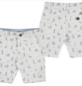 Mayoral Mayoral Nautical Printed Shorts