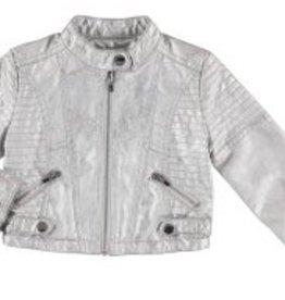 Mayoral Mayoral Faux Leather Jacket