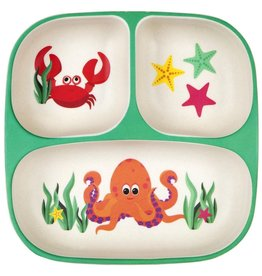 Sunny Life Sunny Life Eco Kids Under the Sea Plate