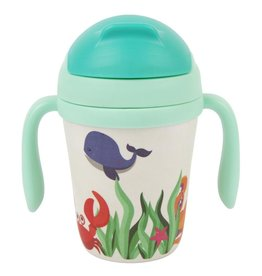 Sunny Life Sunny Life Eco Kids Under the Sea Sippy Cup