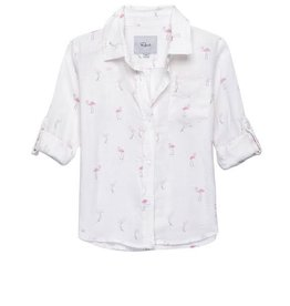 Little Rails Cora Flamingo Blouse