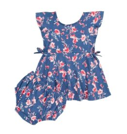 Splendid Splendid Floral Ruffle Dress