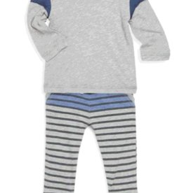Splendid Splendid Striped Pant Set