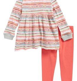Splendid Splendid Stripe Print Sweater Set