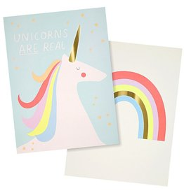 Meri Meri Meri Meri Rainbows & Unicorns Art Prints