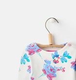 Joules Joules Harbour Floral Print Jersey Top