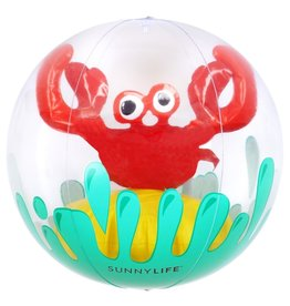 Sunny Life Sunny Life 3D Inflatable Crab Beach Ball