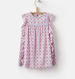 Joules Joules Gertie Summer Mosaic Woven Dress