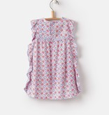 Joules Joules Gertie Summer Mosaic Woven Dress